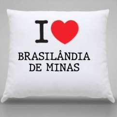 Almofada Brasilandia de minas