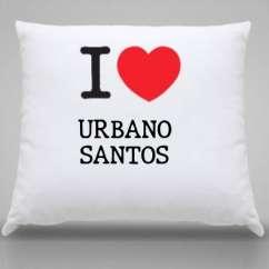 Almofada Urbano santos