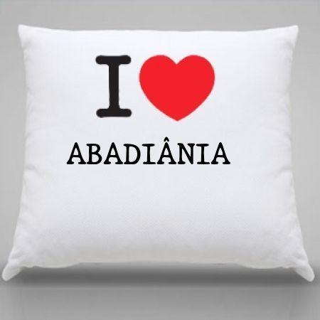 Almofada Abadiania