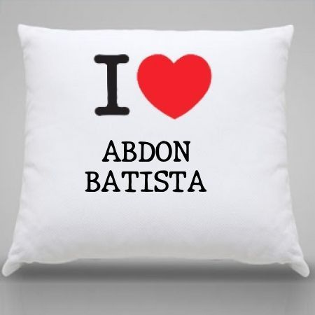 Almofada Abdon batista
