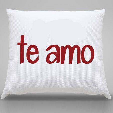 Almofada Personalizada Te Amo