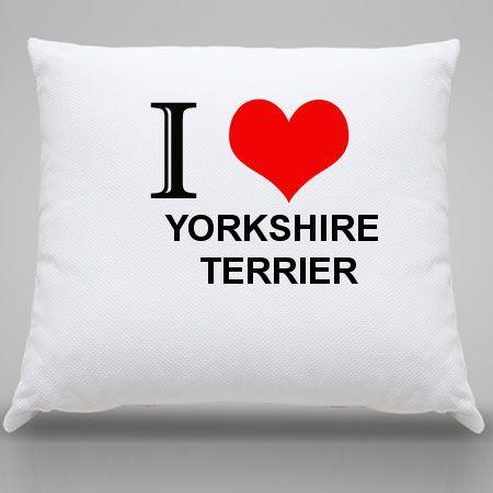 Almofada Yorkshire terrier