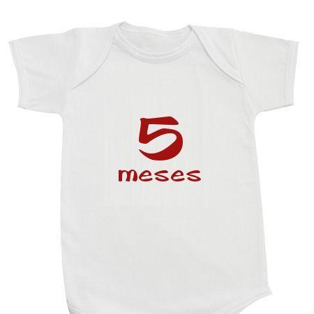 Body Infantil 5 meses - Body Personalizados - eCamisetas bcc27948e44