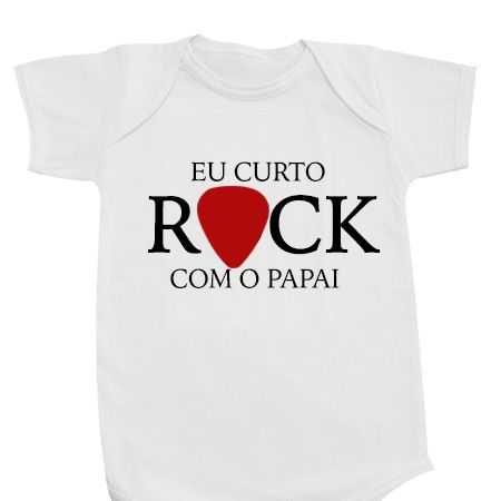 Body Eu Curto Rock Papai