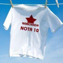 Camiseta Namorada Nota 10