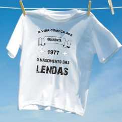 Camiseta Nascimento Lendas