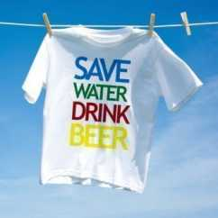 Camiseta Carnaval Save Water Drink Beer