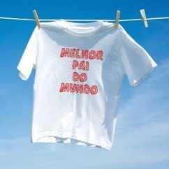 Camiseta Melhor Pai do Mundo