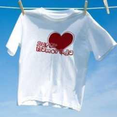 Camiseta Super Namorada