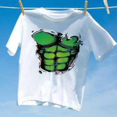 Camiseta Abdomen Verde