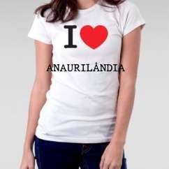 Camiseta Feminina Anaurilandia