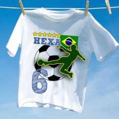 Camiseta Brasil Hexa 6