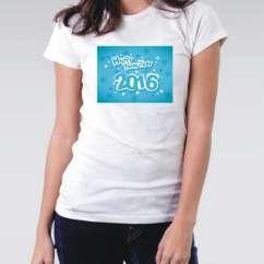 Camiseta Feminina Reveillon 2016