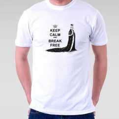 Camiseta Fred Mercury Keep Calm