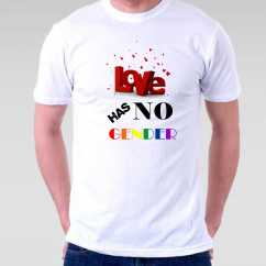 Camiseta LGBT Love has no Gender