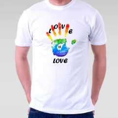 Camiseta Love is Love