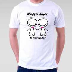 Camiseta Nosso Amor Te Incomoda