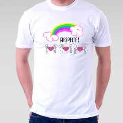 Camiseta Respeite