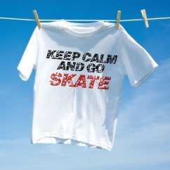 Camiseta Keep Calm and go Skate