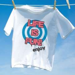 Camiseta Life Is Fun enjoy