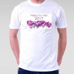 Camiseta Masculina 2017 New Year