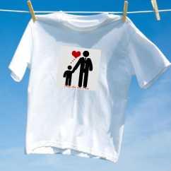 Camiseta Pai e Filho
