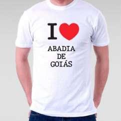 Camiseta Abadia de goias