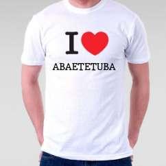 Camiseta Abaetetuba