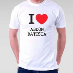 Camiseta Abdon batista