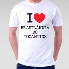 Camiseta Brasilandia do tocantins