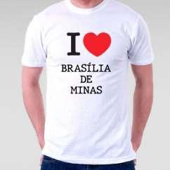 Camiseta Brasilia de minas