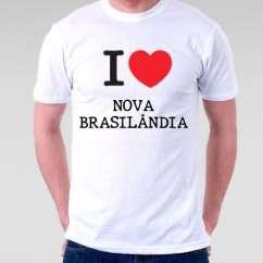 Camiseta Nova brasilandia