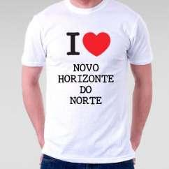 Camiseta Novo horizonte do norte
