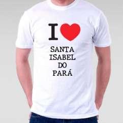 Camiseta Santa isabel do para