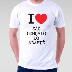 Camiseta Sao goncalo do abaete