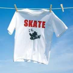 Camiseta Skate Caveira