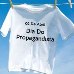 Camiseta Dia Do Propagandista