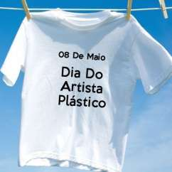 Camiseta Dia Do Artista Plástico