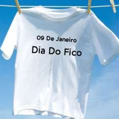 Camiseta Dia Do Fico