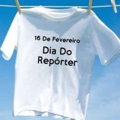 Camiseta Dia Do Repórter