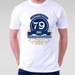 Camiseta A Vida Começa aos 79