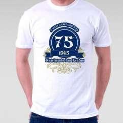 Camiseta A Vida Começa aos 75