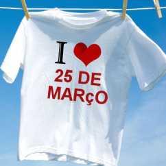Camiseta Personalizada 25 De Março