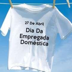 Camiseta Dia Da Empregada Doméstica