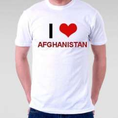 Camiseta Afghanistan
