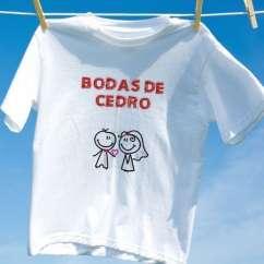 Camiseta Bodas De Cedro