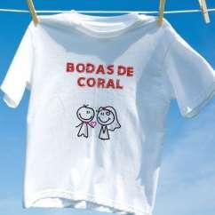 Camiseta Bodas De Coral