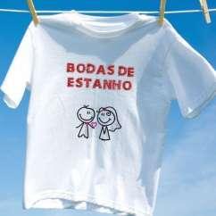 Camiseta Bodas De Estanho