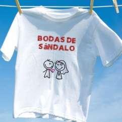 Camiseta Bodas De Sândalo