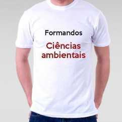Camiseta Formandos Ciências Ambientais